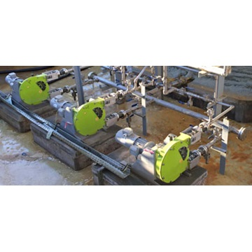 Chemical processing application for peristaltic pumps